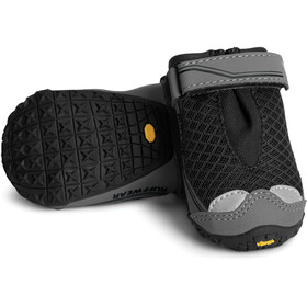 Ruffwear Grip Trex Dog Boots Set of 2 Pairs, obsidian black